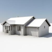 story house 3d lwo