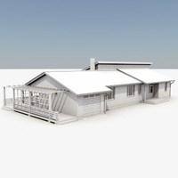 story house 3d max