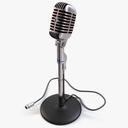 Vintage Shure Microphone