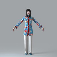 3ds max axyz body character human