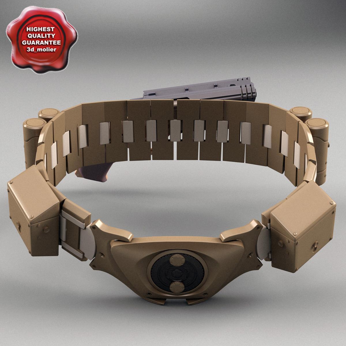 3ds max batman belt