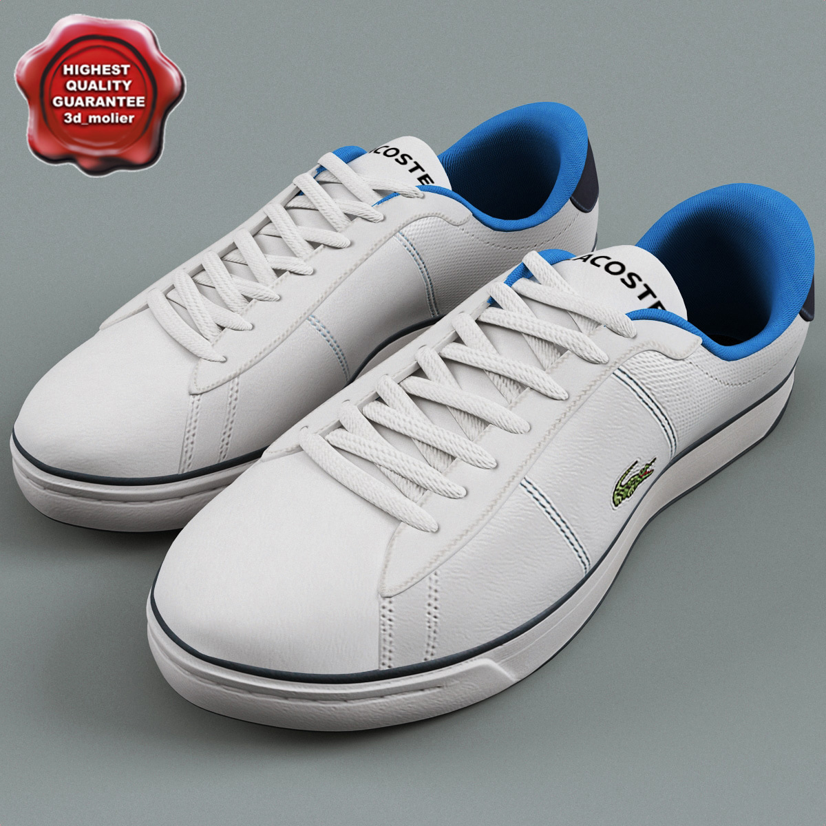 3d beckett sneakers lacoste