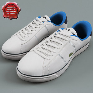 3d beckett sneakers lacoste