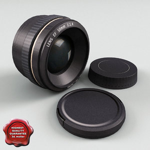 3d camera kit lens model