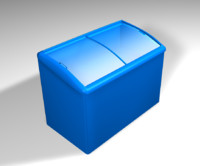 3d ice chest model