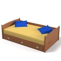 max children single bed