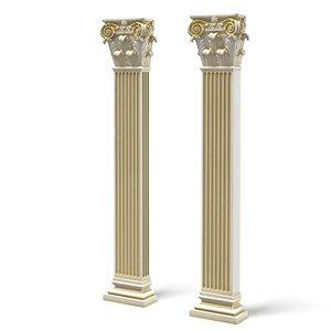 max corinthian pilaster column