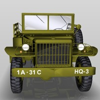 3d model dodge wc vehicles