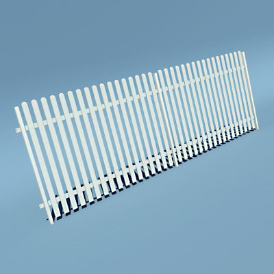 lwo wooden fence