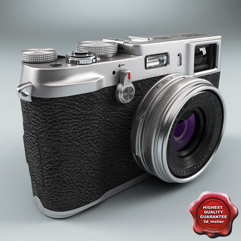 3d model fujifilm finepix x100