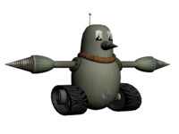 free grounder sonic hedgehog 3d model
