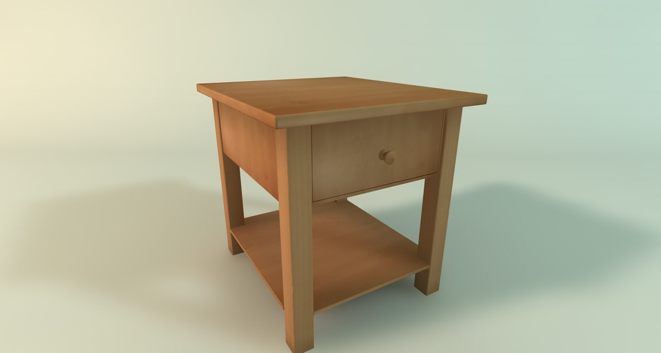 free c4d model furniture room
