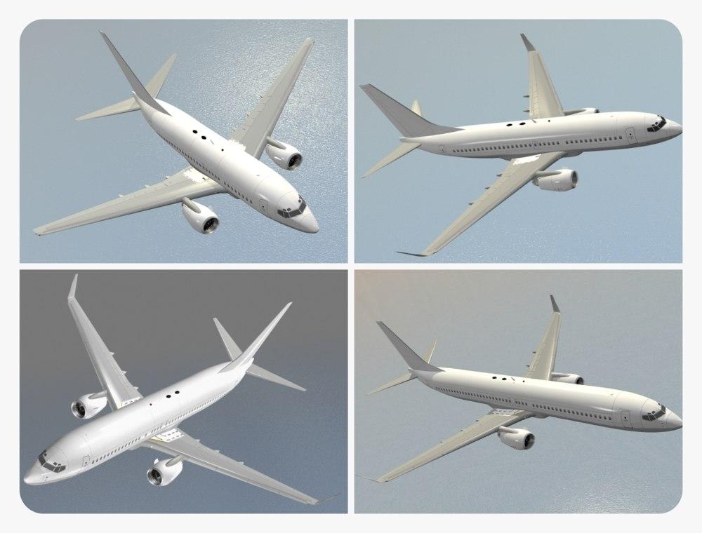 boeing 737 generation 3d model