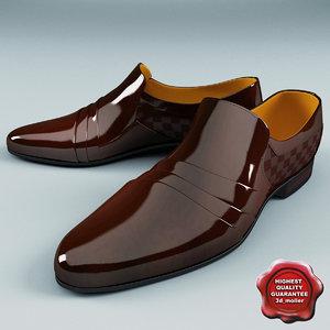 3d man shoes v3