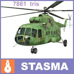 russian mi-8 3ds