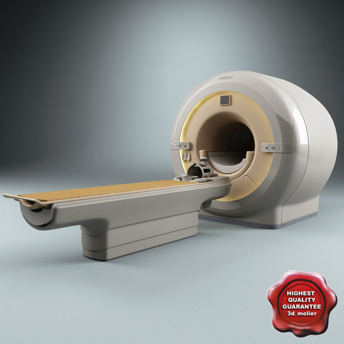 3ds max philips ct scanner mri