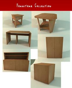 room furniture c4d