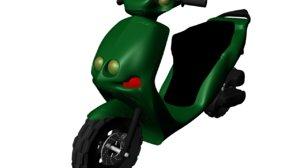 moped 50cc 3d model