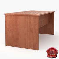 3d school desk v4