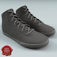 Supra Cuttler Grey Canvas Shoes