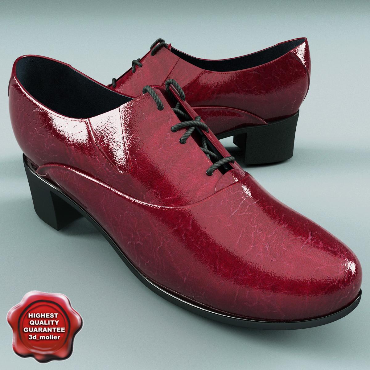 3d women shoes