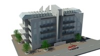 3dsmax building architect