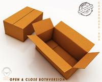 3ds cardboard box