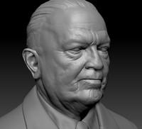 J. Edgar Hoover Bust