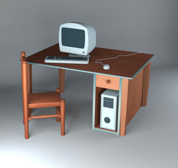 maya cartoon computer