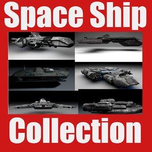 spaceship tank spacecraft 3d obj