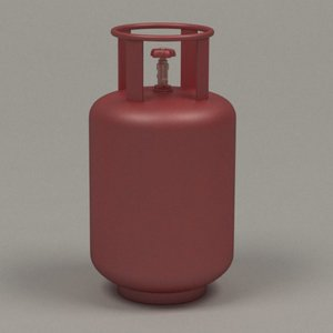 gas container 3d model