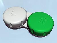 3d 3ds contact lens case