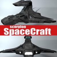 3d ship scorpion 2