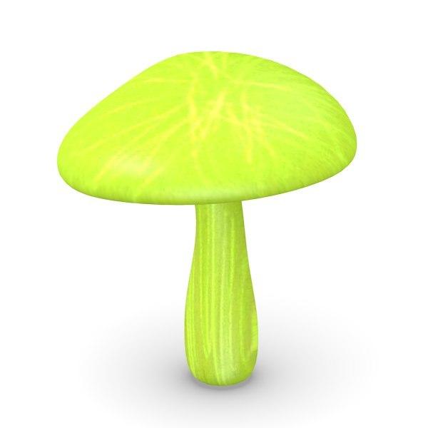 scifi mushroom 3d 3ds