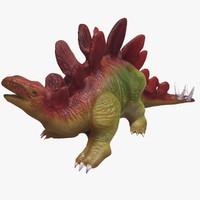 stegosauras 3d max