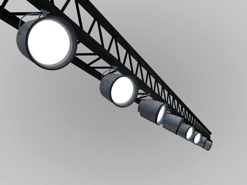 track spot lights c4d