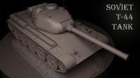 Soviet T 44 tank