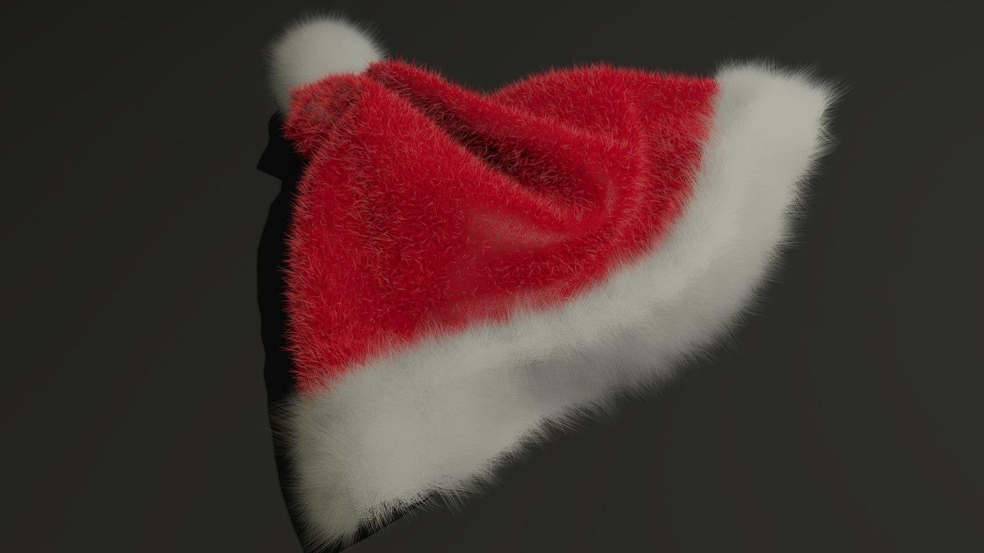 santa hat obj