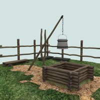 wood grass ground 3d max