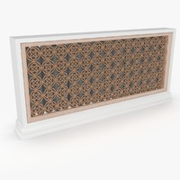 free radiator decorative 3d model