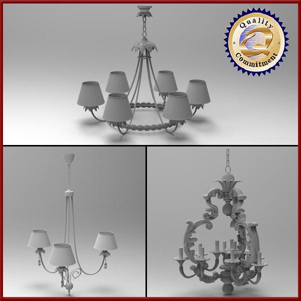 light hanging 3d model