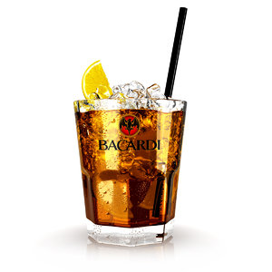 3ds max bacardi cola