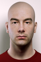 3D Male Bust