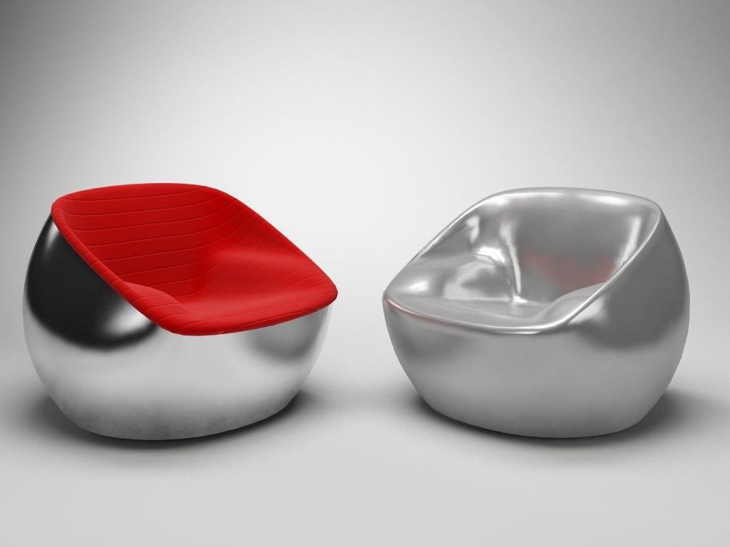3d model of arflex ball seat