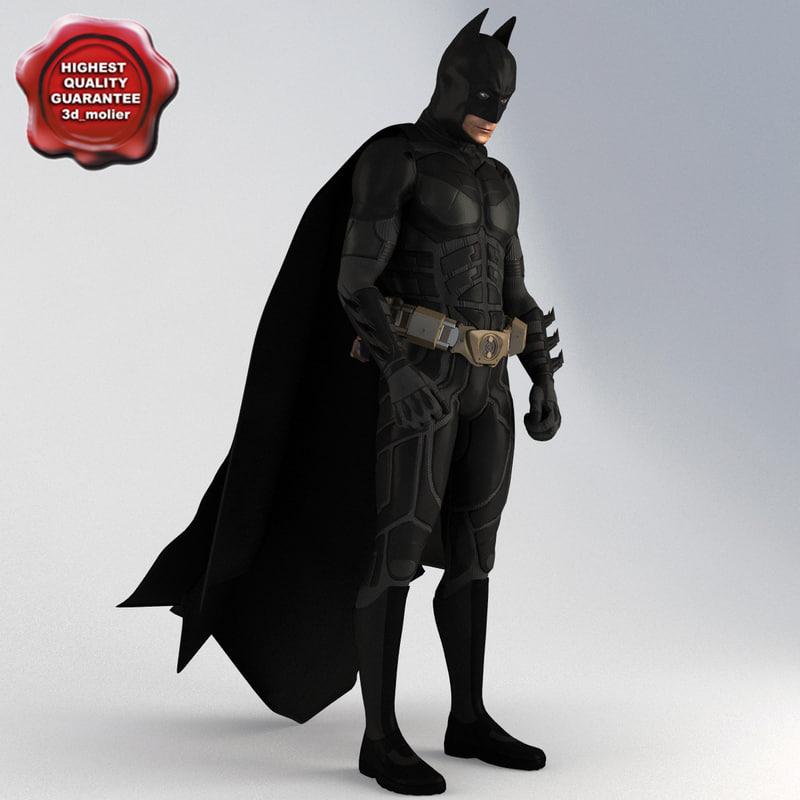 batman pose3 3d 3ds