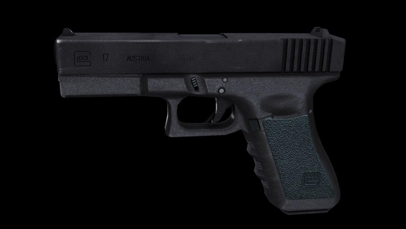3d model glock 17