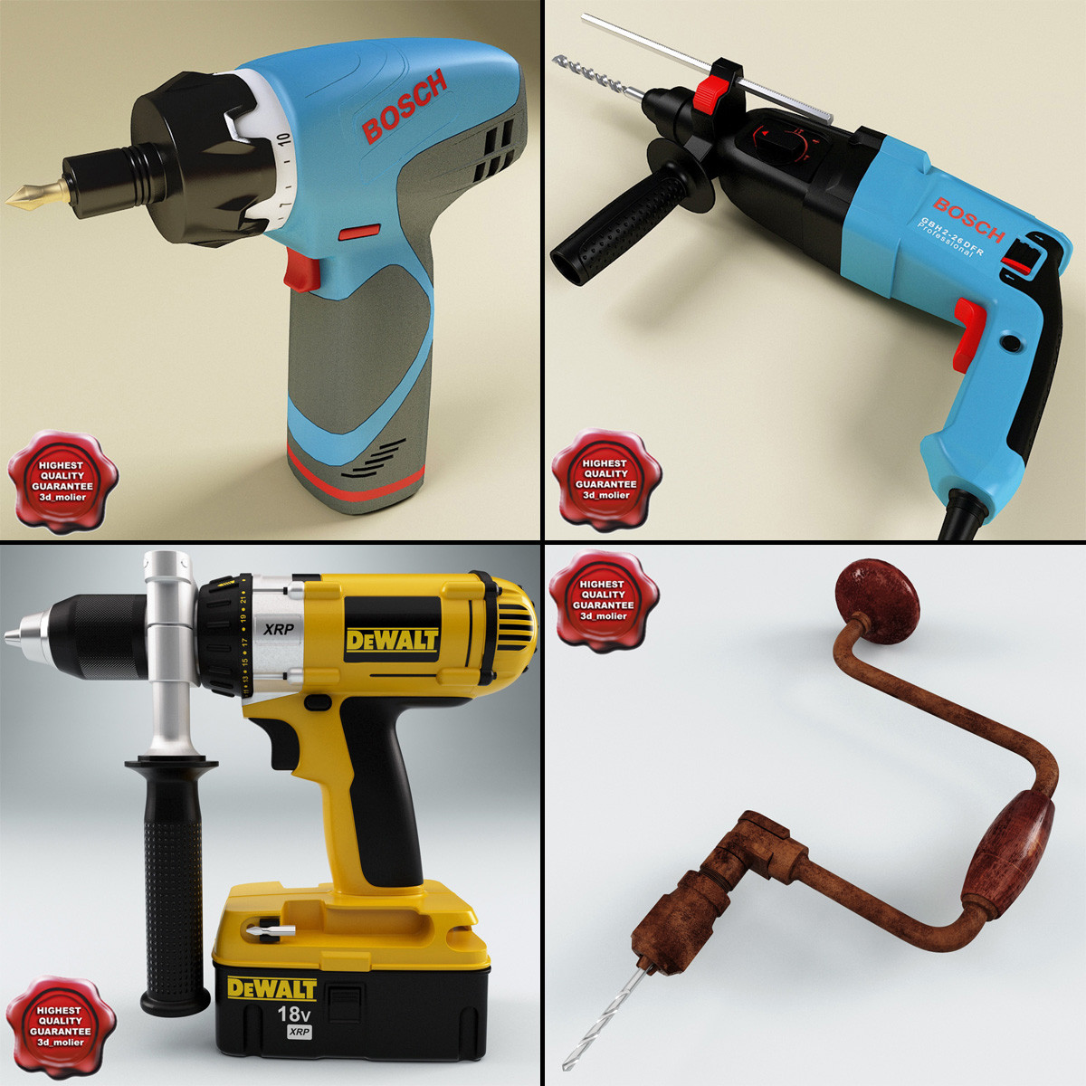 drills v1 3d model