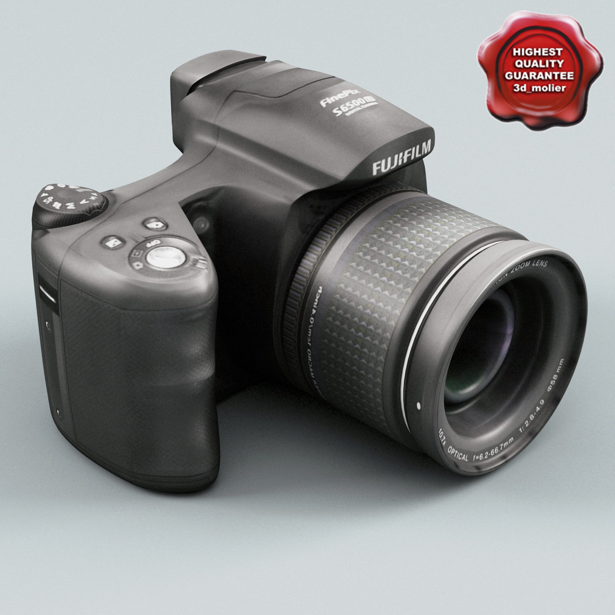 3d fujifilm finepix s6500 model