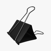 black binder realistic 3d fbx