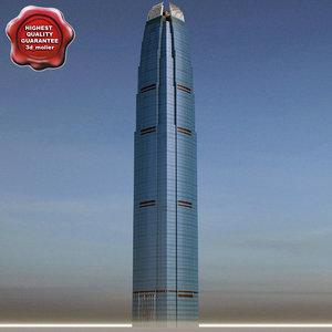 international finance center 3d model